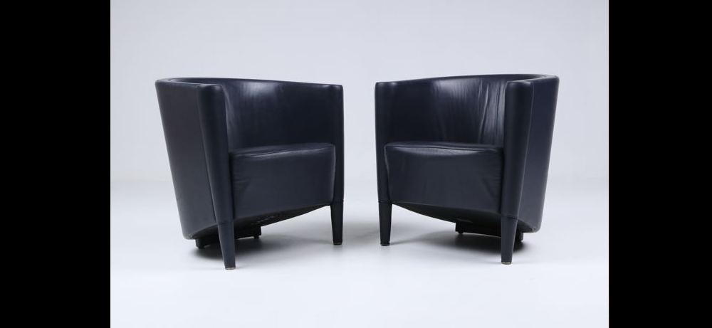 RICH SMALL ARMCHAIR BY ANTONIO CITTERIO, 1989