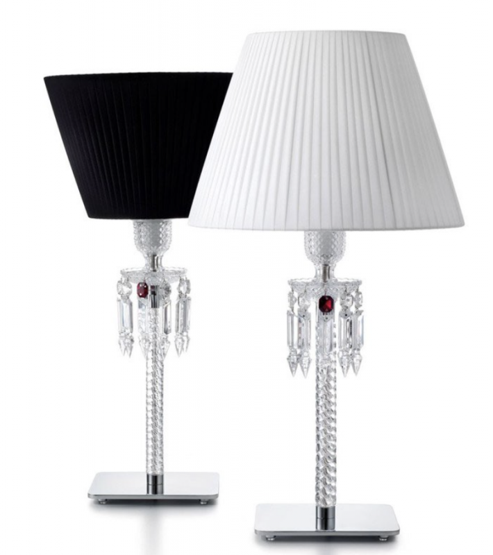 TORCH lamp -  designed by ARIK LEVY, the Torch lamps were inspired by the emblematic Zénith chandelier, which it partly reinvents. The combination of crystal and metal adds a touch of modernity.