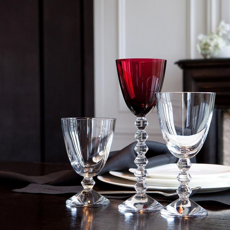 Crystal glasses VÉGA by SAVINEL & ROZÈ