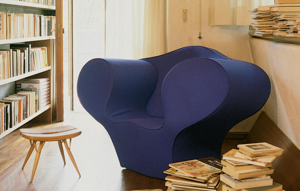 SOFT BIG EASY ARMCHAIR BY RON ARAD, 1991