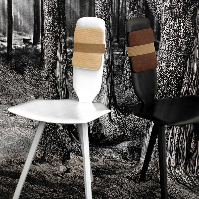 Dining chairs BAVARESK - designer CHIRSTOPHE DE LA FONTAINE