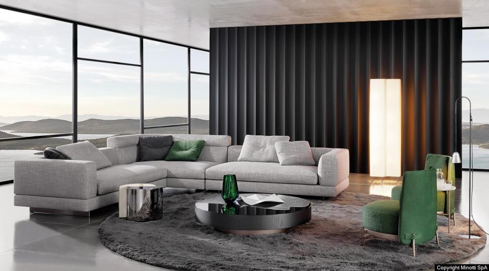 ALEXANDER seating system by RODOLFO DORDONI, designed in 2018
