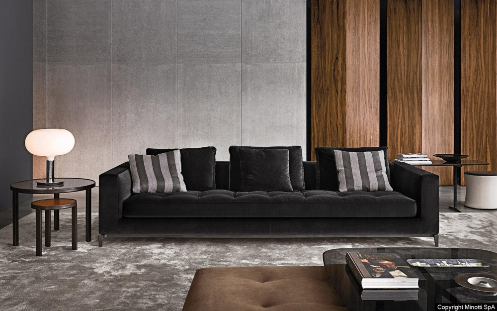 ANDERSEN LINE QUILT seating system by RODOLFO DORDONI