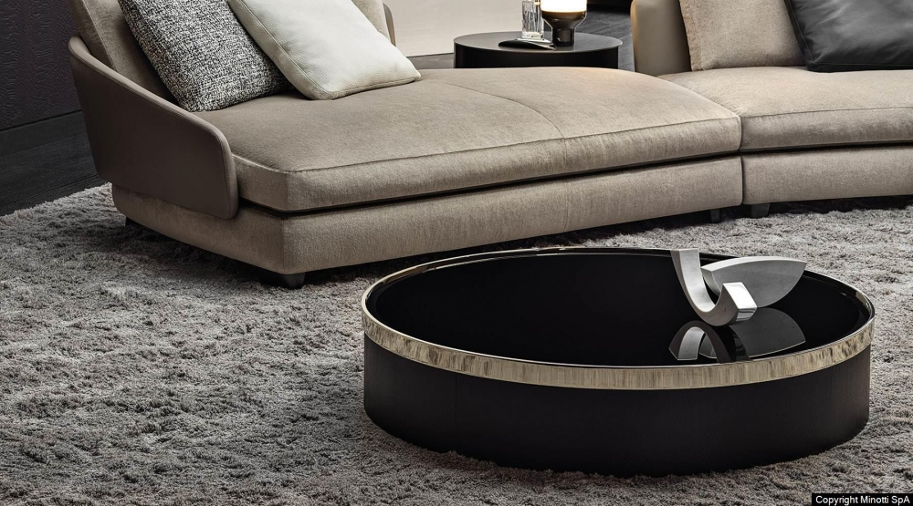 BAILLY coffee table by RODOLFO DORDONI, designed in 2019
