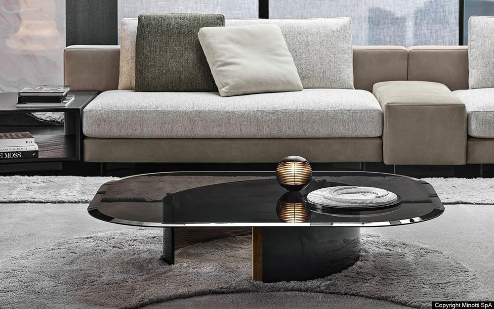 BANGLE coffee tables by RODOLFO DORDONI, designed in 2019
