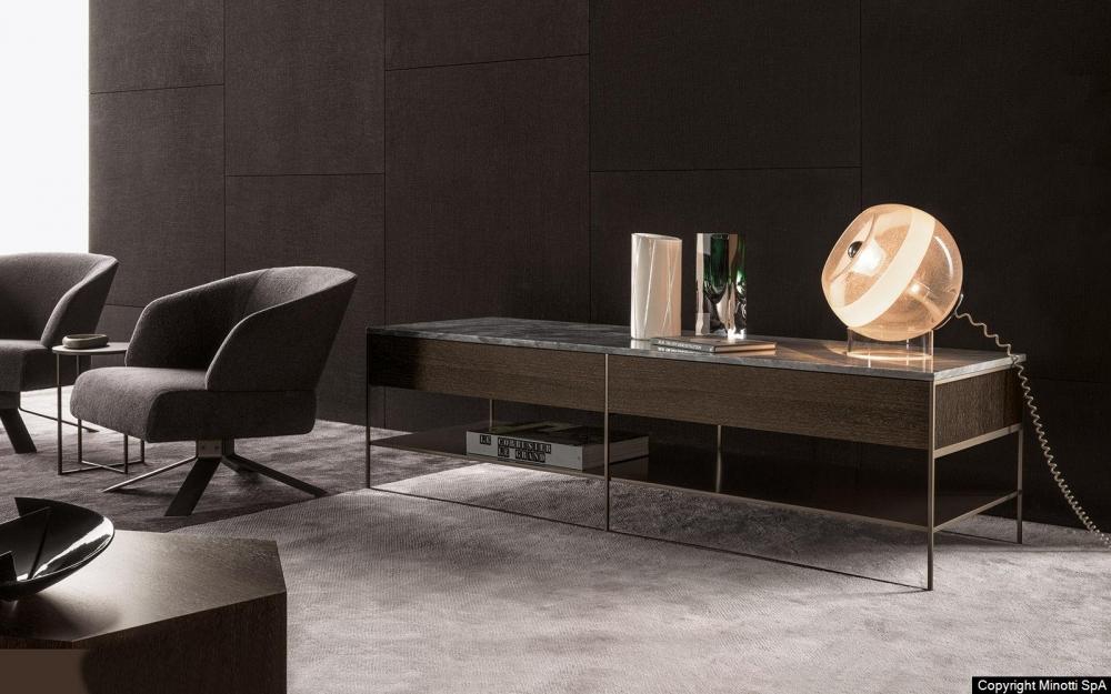 CALDRE BRONZE CONSOLE TABLE by RODOLFO DORDONI