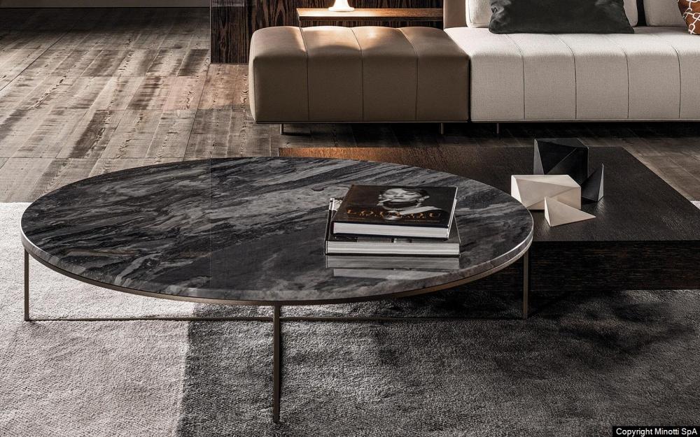 CALDER BRONZE coffee table by RODOLFO DORDONI