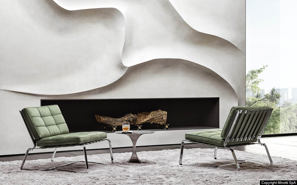 DELAUNAY QUILT ARMCHAIR by RODOLFO DORDONI, designed in 2019