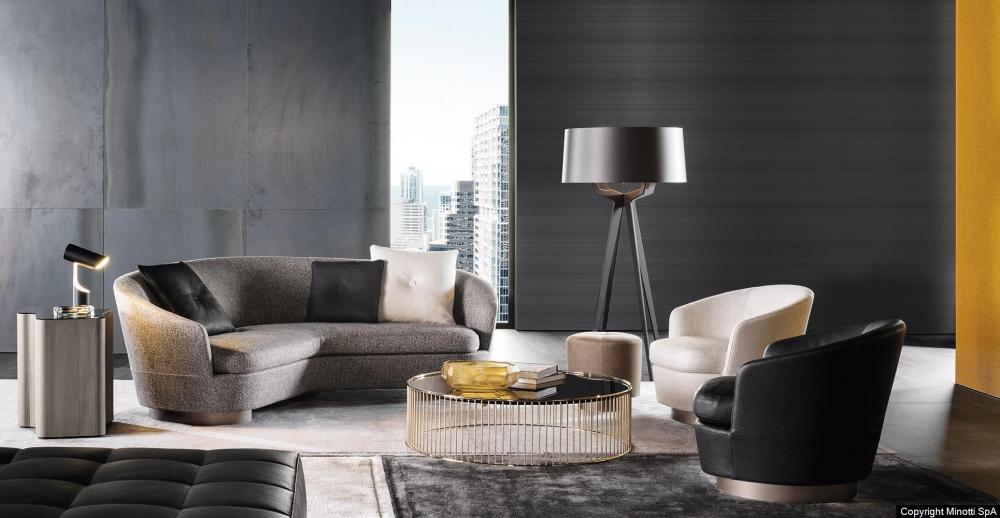 JACQUES angled sofa by RODOLFO DORDONI