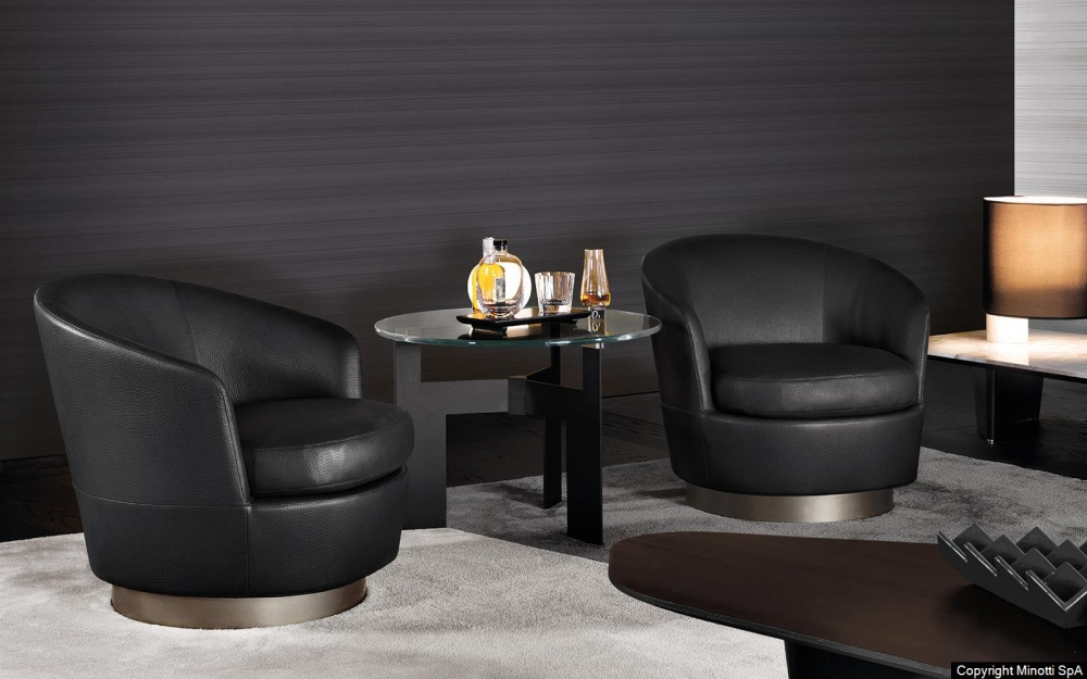 JACQUES LOW ARMCHAIR by RODOLFO DORDONI