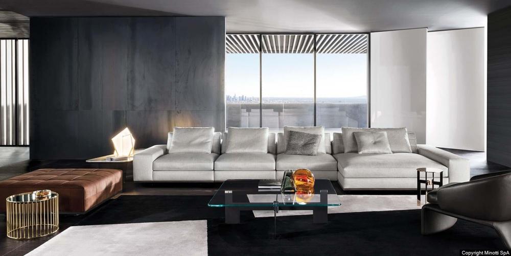LAWRENCE seating system by RODOLFO DORDONI