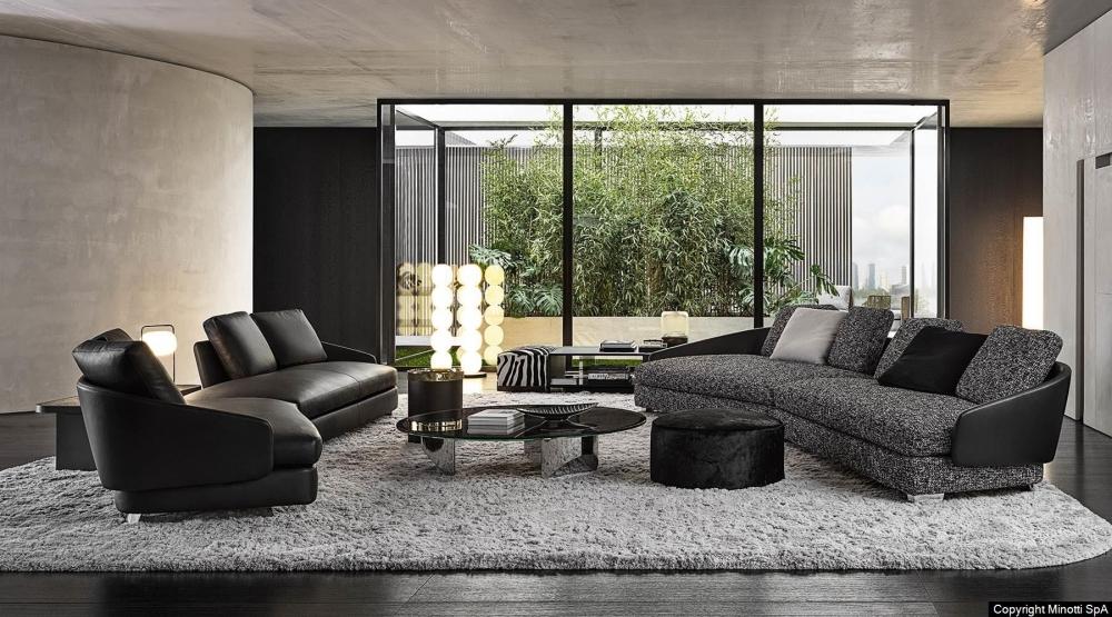 LAWSON seating system by RODOLFO DORDONI, designed in 2019