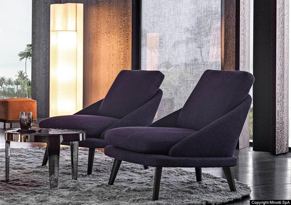 LAWSON ARMCHAIR by RODOLFO DORDONI, designed in 2019