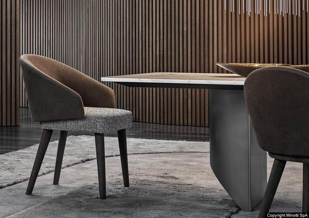 LAWSON DINING CHAIR by RODOLFO DORDONI, designed in 2019