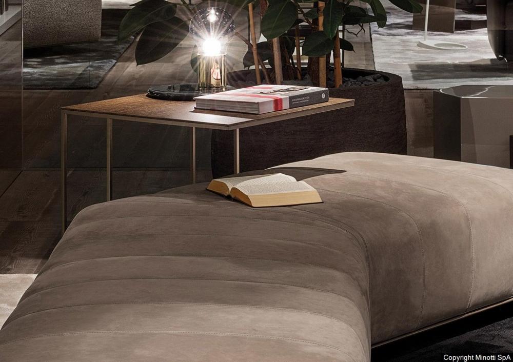 LEGER BRONZE coffee table by RODOLFO DORDONI
