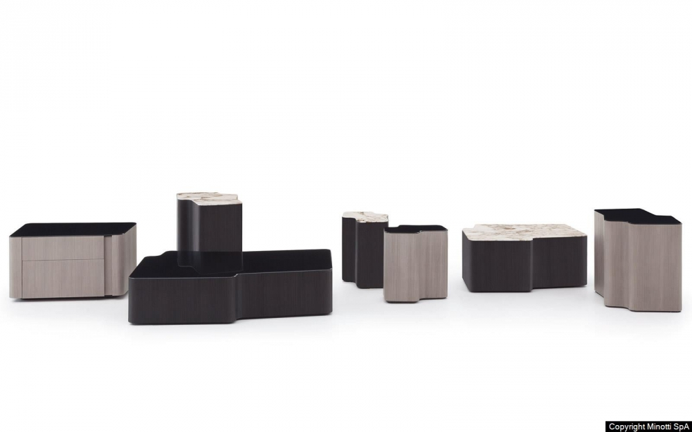 LOU coffee table by CHRISTOPHE DELCOURT