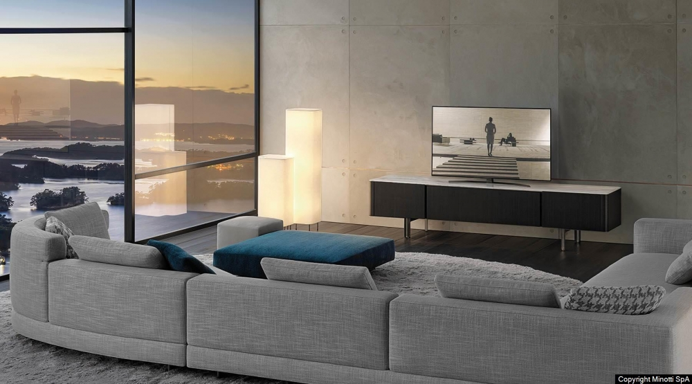 LOU LIVING/ TV CONSOLE by CHRISTOPHE DELCOURT