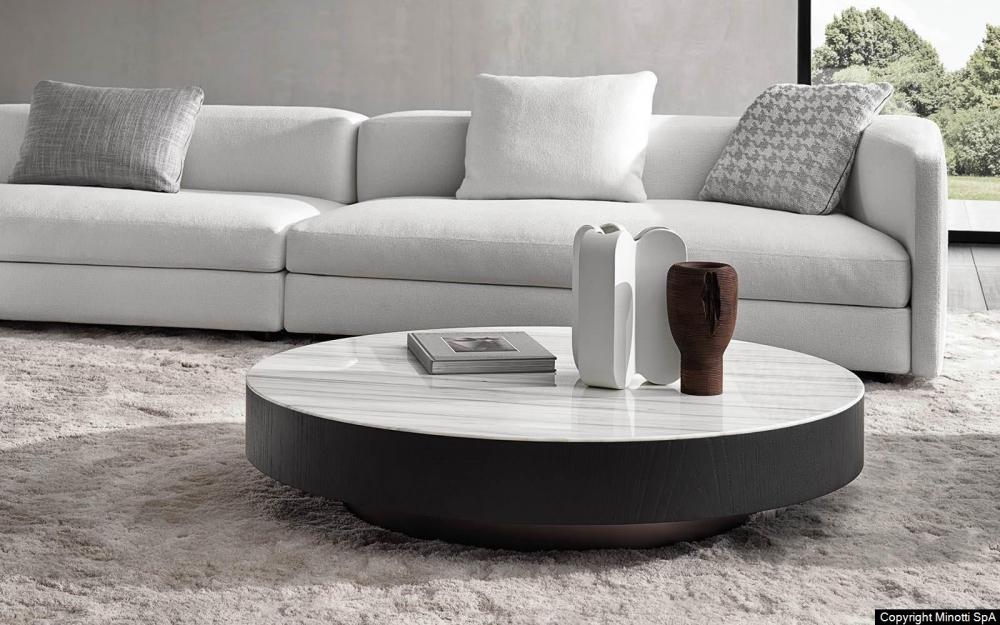 MILTON coffee table by RODOLFO DORDONI