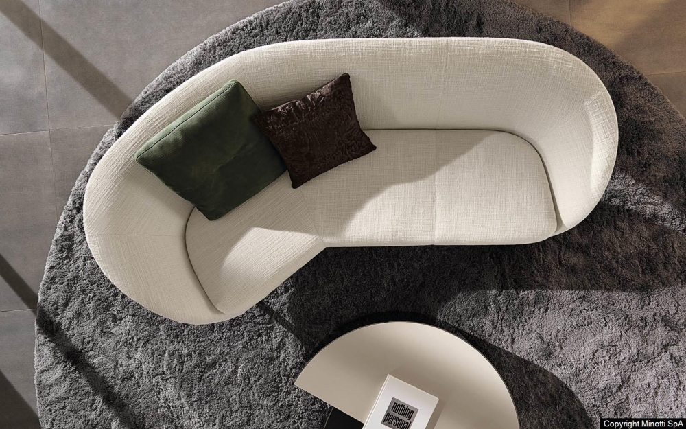RUSSELL angled sofa by RODOLFO DORDONI