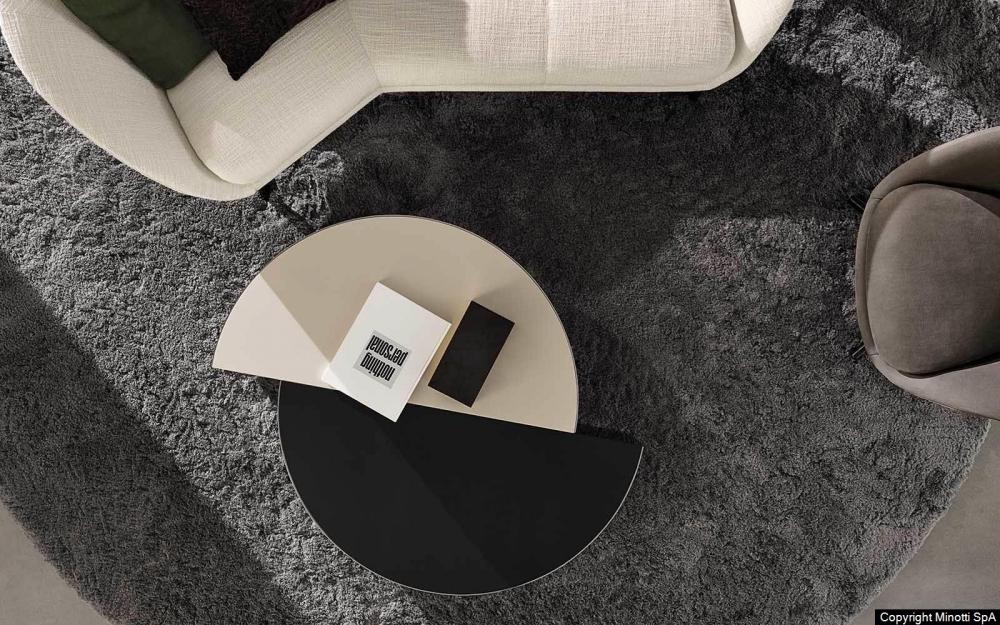 SHIELDS COFFEE TABLES by MINOTTI STUDIO DESIGN