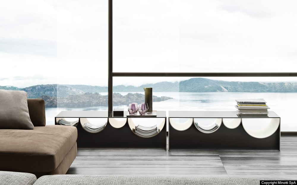 WAVES coffee table by NENDO