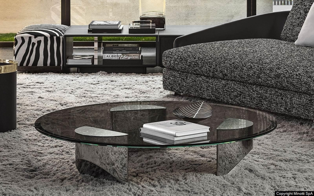 WEDGE coffee table by NENDO, designed in 2019