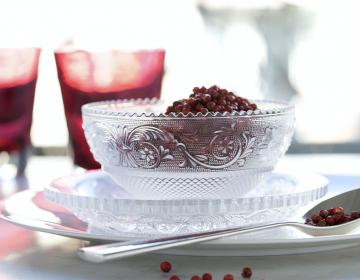 baccarat kristallist lauanõud