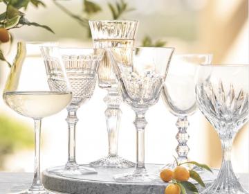 baccarat veini- ja veeklaasid